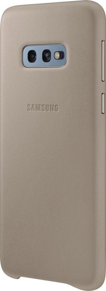 Панель Samsung Leather Cover для Samsung Galaxy S10e (EF-VG970LJEGRU) Gray от Територія твоєї техніки - 3