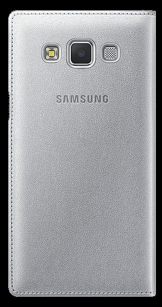 Чехол Samsung S View для Samsung Galaxy A5 500 Silver (EF-CA500BSEGRU) - 1