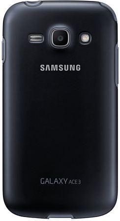 Накладка Samsung Protective Cover+ для Galaxy Ace 3 Black (EF-PS727BBEGWW) - 1