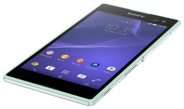 Мобильный телефон Sony Xperia C3 D2502 Mint - 1