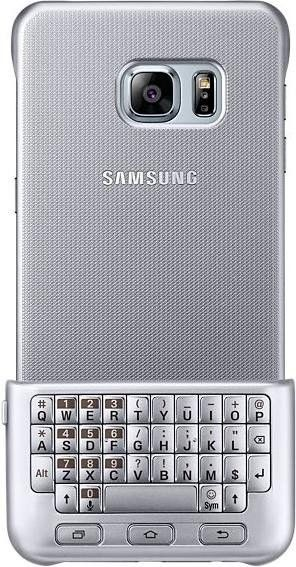 Чехол-клавиатура Samsung для Galaxy S6 Edge+ (EJ-CG928RSEGRU) Silver от Територія твоєї техніки - 2