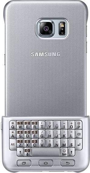 Чехол-клавиатура Samsung для Galaxy S6 edge+ Silver (EJ-CG928RSEGRU) - 2