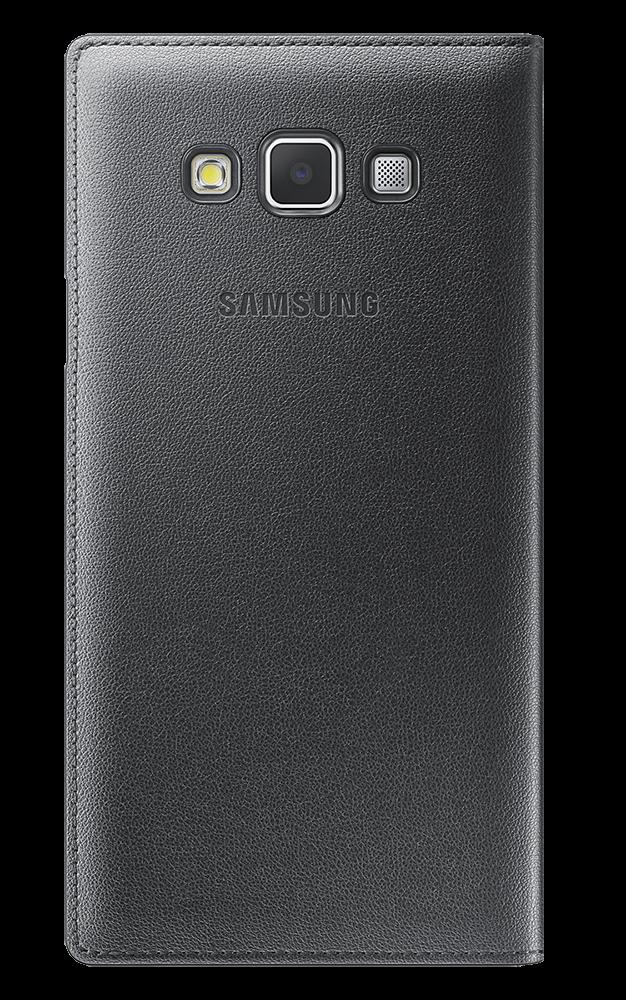 Чехол Samsung S Cover View для Samsung Galaxy A7 Charcoal (EF-CA700BCEGRU) - 1
