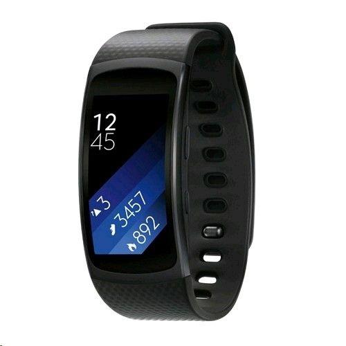 Фитнес-трекер Samsung Gear Fit 2 Dark Gray (SM-R3600DAASEK ) - 1