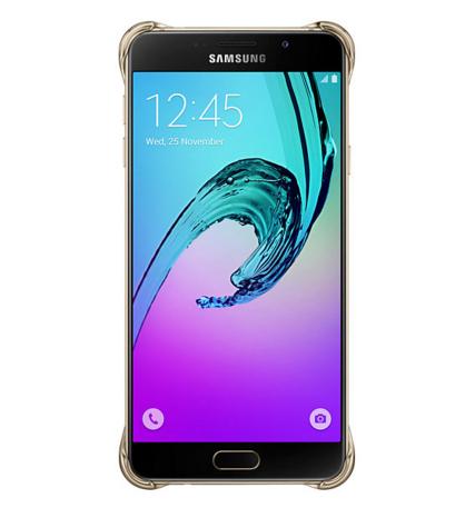 Чехол Samsung A710 EF-QA710CFEGRU Gold - 4