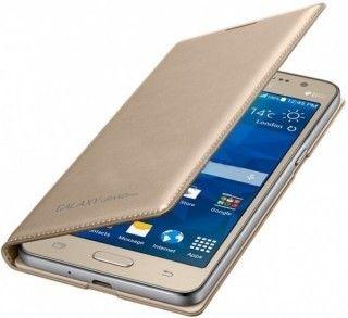 Чехол Samsung Flip Wallet для Samsung Galaxy Grand Prime Gold (EF-WG530BFEGRU) - 1