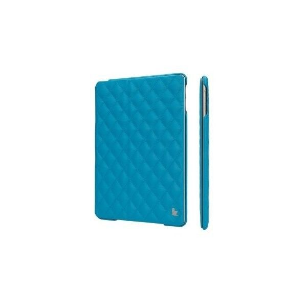 Чехол-книжка для iPad Jison Quilted Leather Smart Case (JS-ID5-02H40) Blue for iPad Air/Air 2 - 3