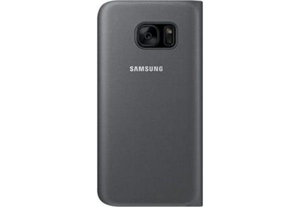 Чехол Samsung Flip Wallet для Galaxy S7 Black (EF-WG930PBEGRU) - 2