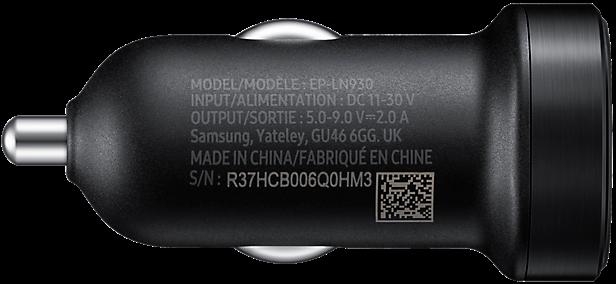 Автомобильное зарядное устройство Samsung Fast Charge Mini (EP-LN930BBEGRU) от Територія твоєї техніки - 5