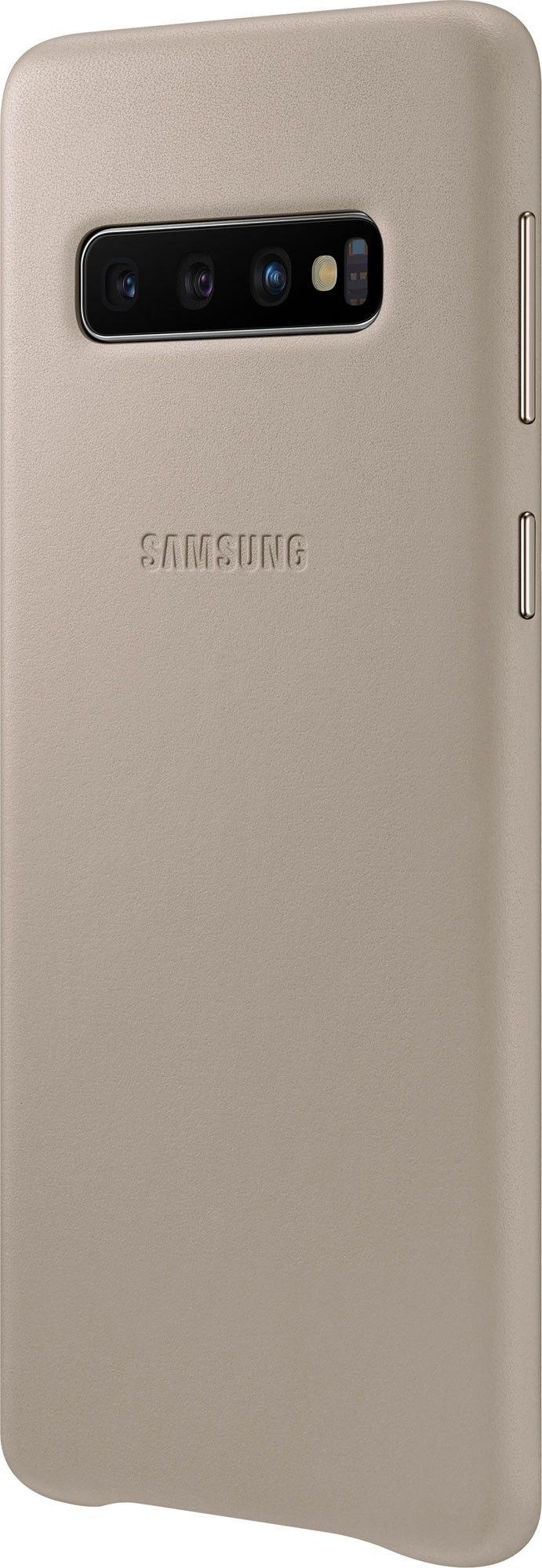 Панель Samsung Leather Cover для Samsung Galaxy S10 (EF-VG973LJEGRU) Gray от Територія твоєї техніки - 3