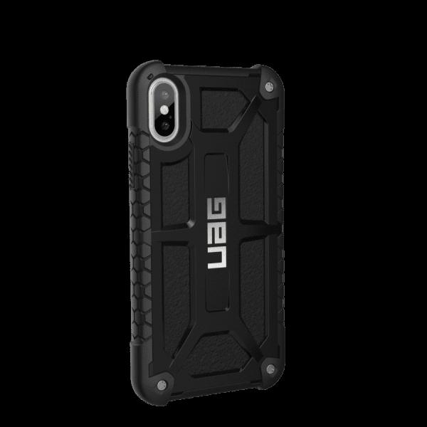 Чехол UAG iPhone X Monarch Black от Територія твоєї техніки - 3