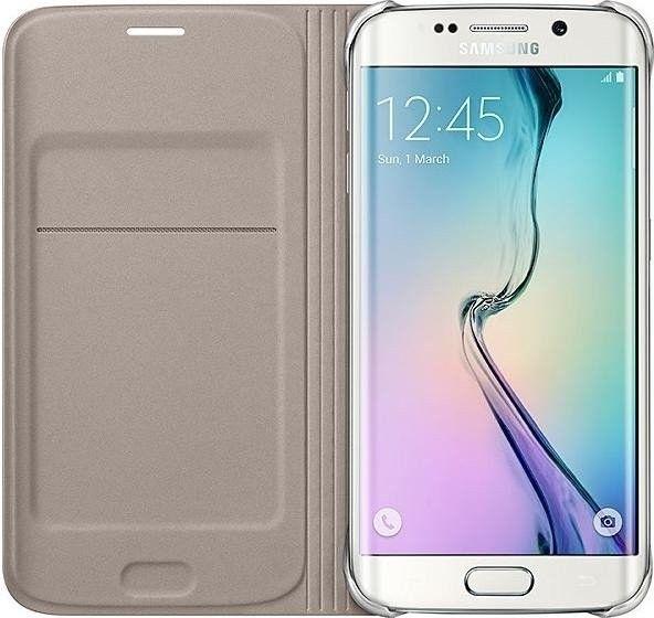 Чехол Samsung Zero Edge для Samsung Galaxy S6 Edge Gold (EF-WG925BFEGRU) - 2