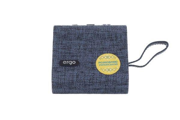 Портативная акустика Ergo BTH-740 Blue от Територія твоєї техніки - 5