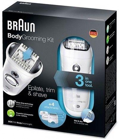 Эпилятор BRAUN BodyGroomKit BGK 7050 (для мужчин)  - 2