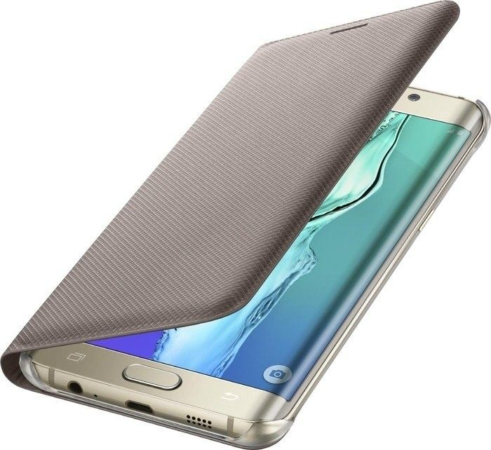 Чехол Samsung Flip Wallet для Samsung Galaxy S6 edge+ Gold (EF-WG928PFEGRU) - 3