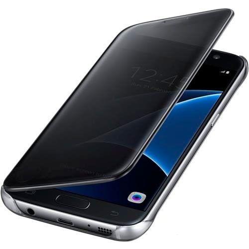 Чехол Samsung Clear View Cover для Samsung Galaxy S7 Black (EF-ZG930CBEGRU) - 2