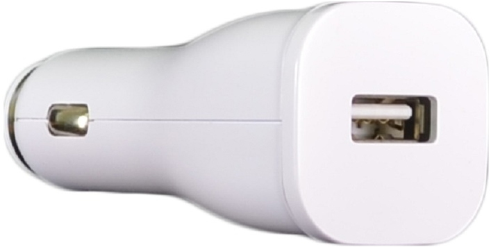 Автомобильное зарядное устройство Samsung ECA-U21CBEGSTD White - 1