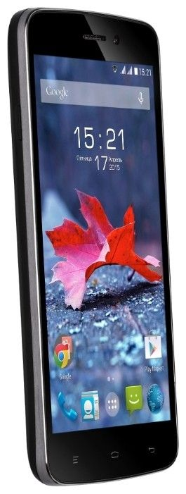 Мобильный телефон Fly IQ4515 EVO Energy 1 Black - 1