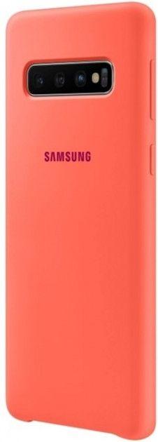 Панель Samsung Silicone Cover для Samsung Galaxy S10 (EF-PG973THEGRU) Berry Pink от Територія твоєї техніки - 3