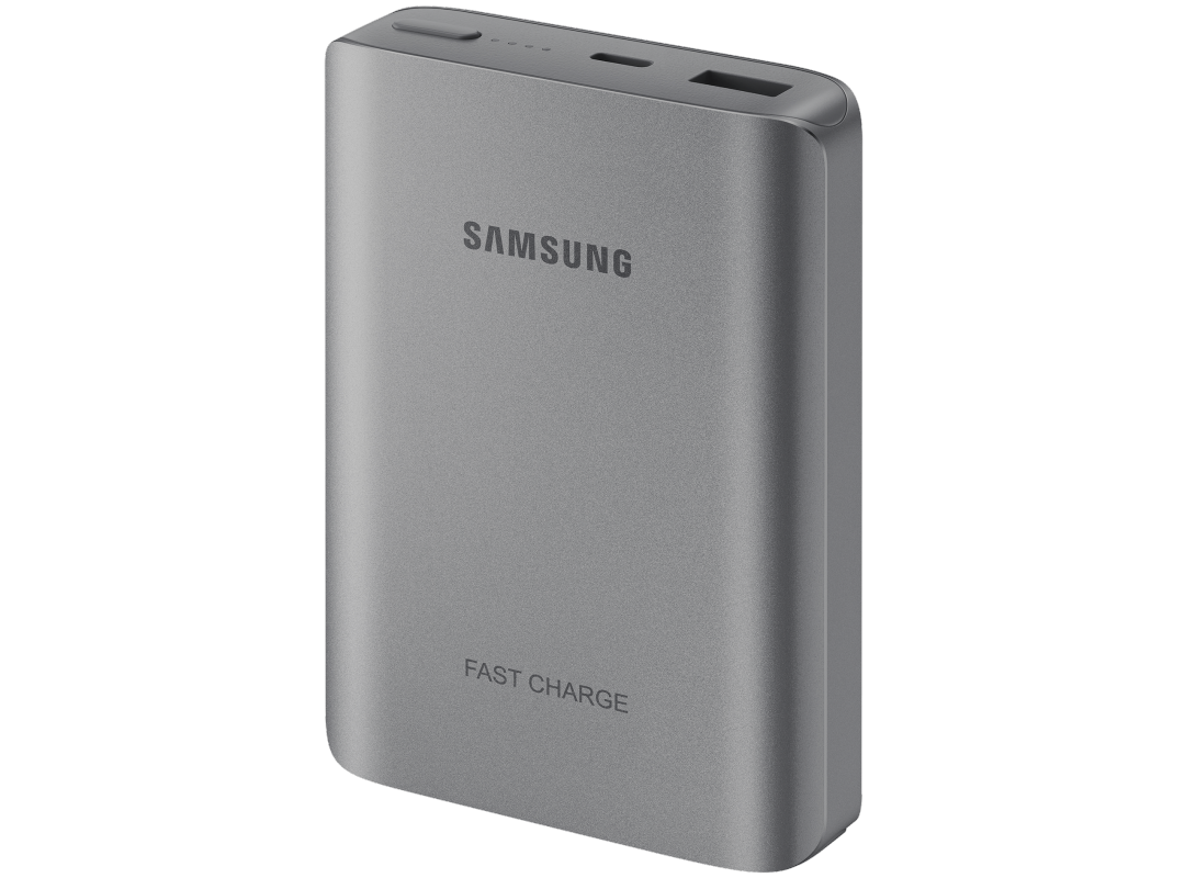 Портативная батарея Samsung 10200 mAh (EB-PN930CSRGRU) Dark Gray - 2