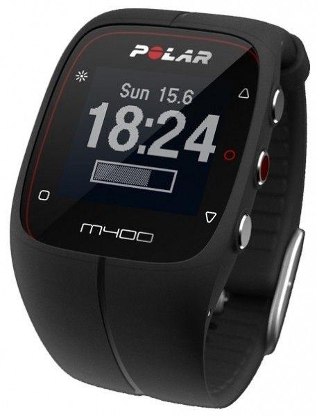 Фитнес-трекер Polar M400 HR Black - 2