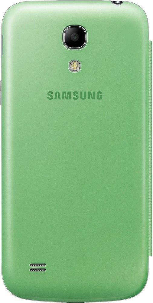 Чехол-книга Samsung для Galaxy S4 Mini Green (EF-FI919BGEGWW) - 2
