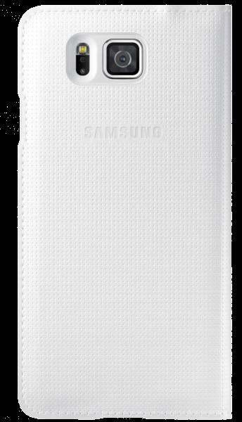 Чехол Samsung S View EF-CG850BWEGRU White для Galaxy Alpha - 1