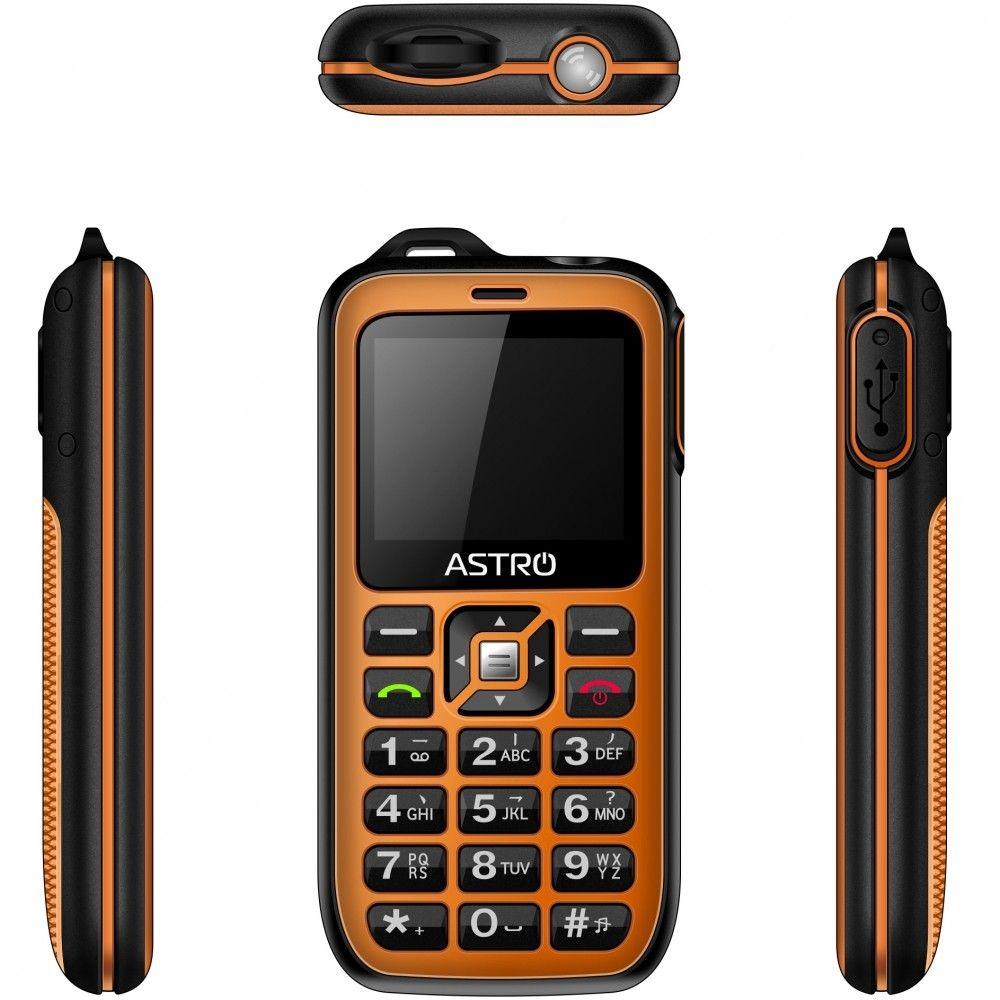 Мобильный телефон ASTRO B200 RX Orange - 2