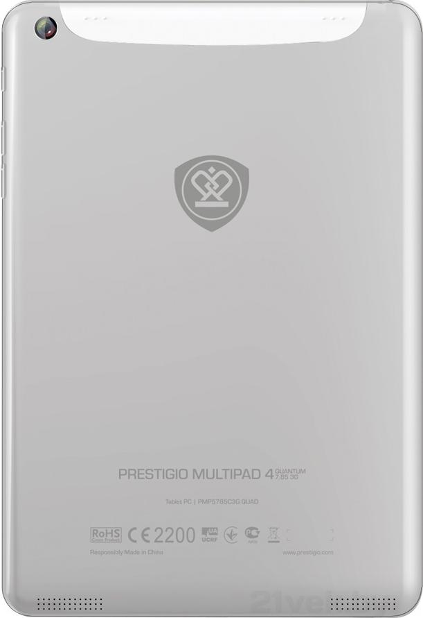 Планшет Prestigio MultiPad 4 Quantum 7.85 3G White (PMP5785C_3G_WH_QUAD) - 1