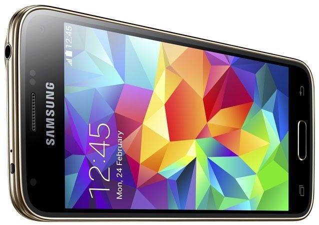 Мобильный телефон Samsung G800H Galaxy S5 Mini Duos Copper Gold - 5