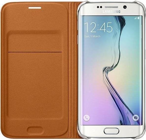 Чехол Samsung Zero Edge для Samsung Galaxy S6 Edge Orange (EF-WG925POEGRU) - 2