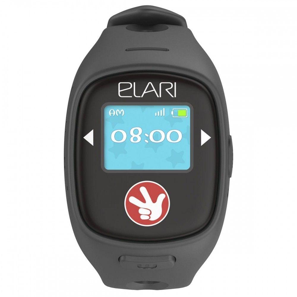 Детский телефон-часы с GPS трекером FIXITIME 2 Black (FT-201B) - 2