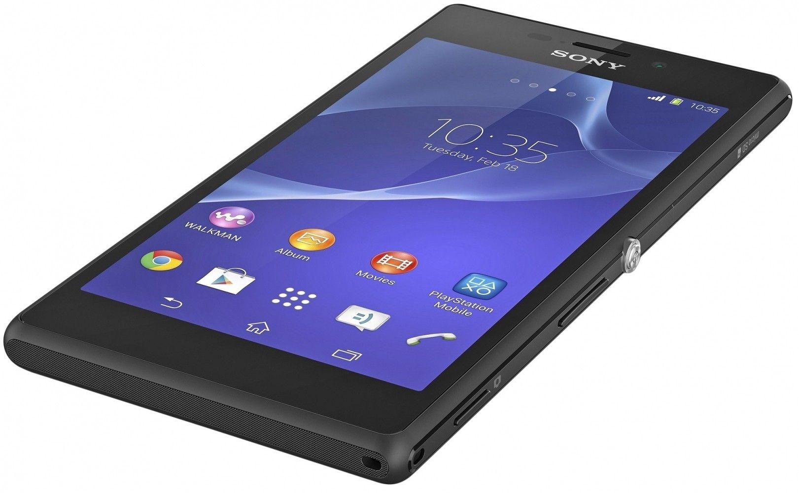 Мобильный телефон Sony Xperia M2 D2302 Black - 1