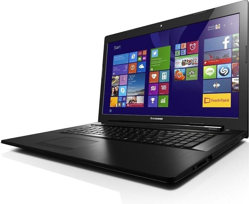Ноутбук Lenovo G70-80 (80FF00BGUA) Black - 2