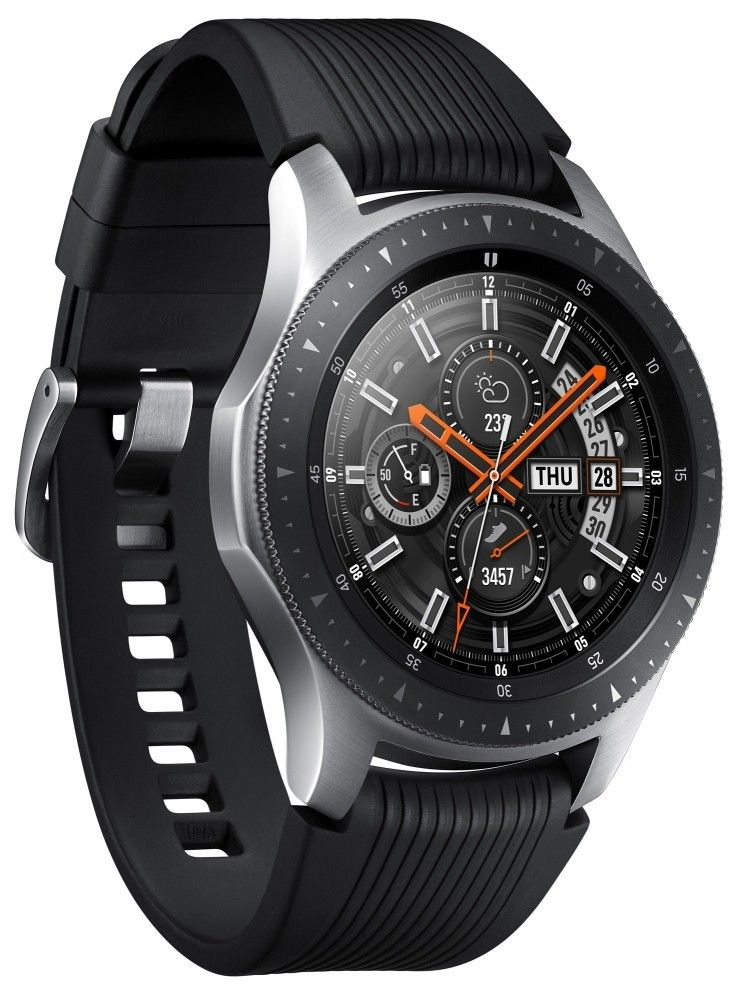 Смарт часы Samsung Galaxy Watch 46mm (SM-R800NZSASEK) Silver от Територія твоєї техніки - 4