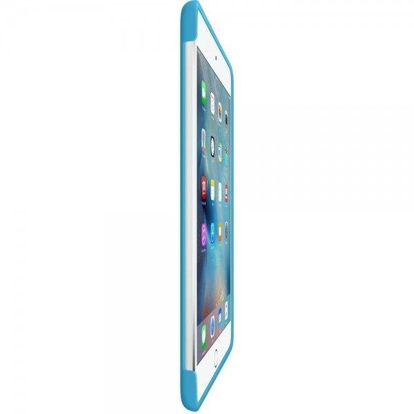 Силиконовый чехол Apple Silicone Case для  iPad mini 4 (MLD32ZM/A) Blue  - 3