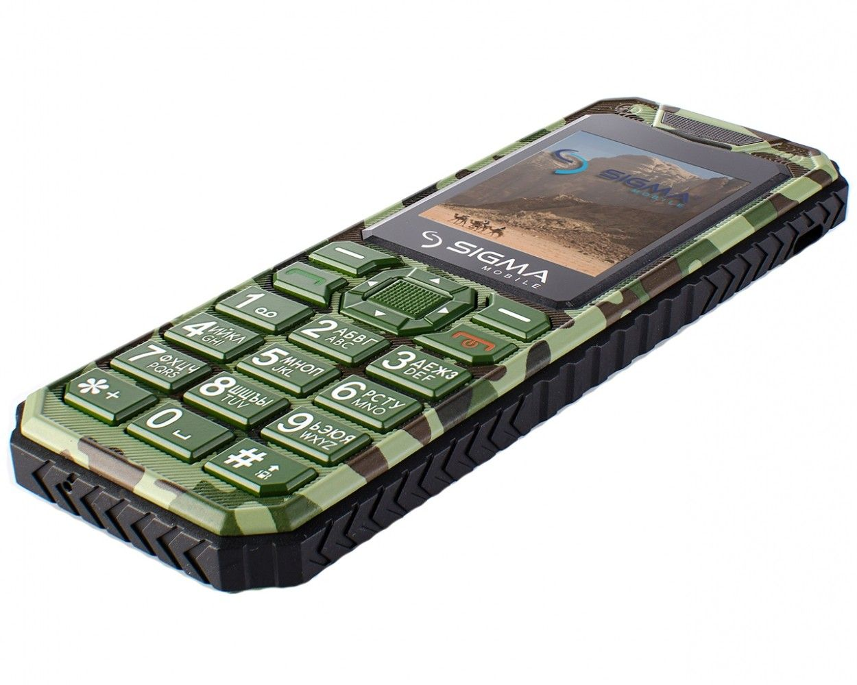 Мобильный телефон Sigma mobile X-style 11 Dragon Green Camouflage - 4