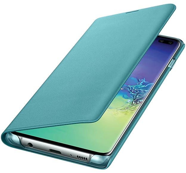 Чехол-книжка Samsung LED View Cover для Samsung Galaxy S10 Plus (EF-NG975PGEGRU) Green от Територія твоєї техніки - 3