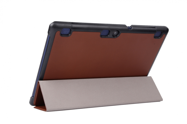 Обложка AIRON Premium для Lenovo Tab 2 A10 Brown - 1