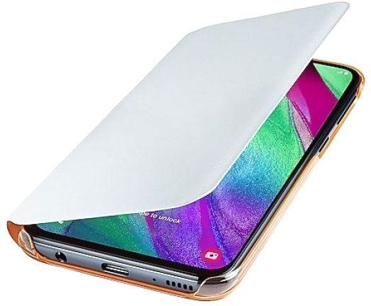 Чехол-книжка Samsung Wallet Cover для Samsung Galaxy A40 (EF-WA405PWEGRU) White