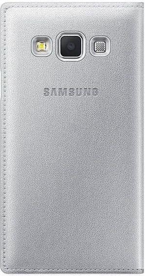 Чехол Samsung Flip Cover для Samsung Galaxy A3 Silver (EF-FA300BSEGRU) - 1
