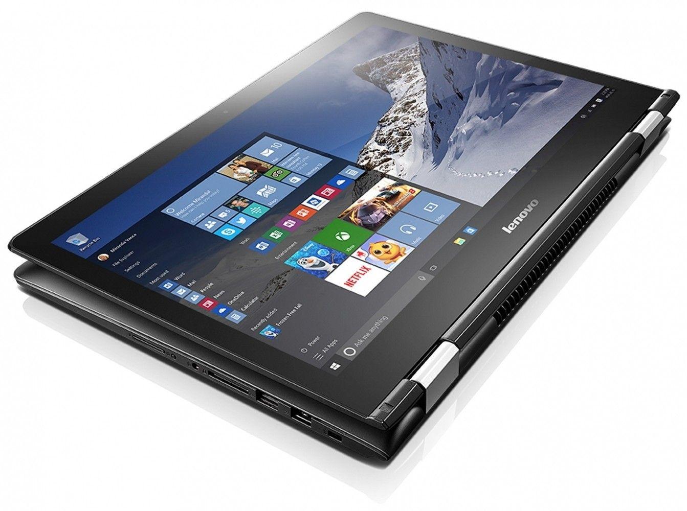Ноутбук Lenovo Yoga 500 (80N600L1UA) - 5