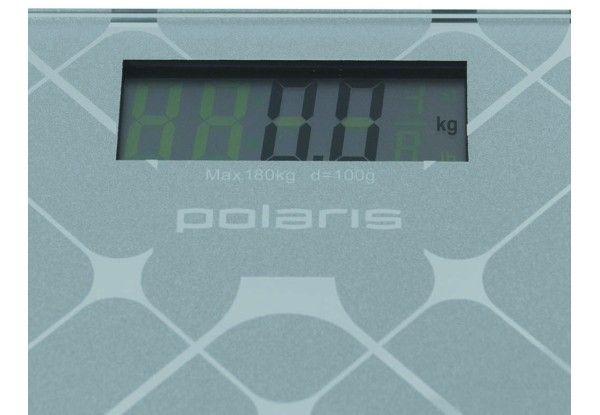 Весы напольные POLARIS PWS 1846DG Mirror Серебристый - 1