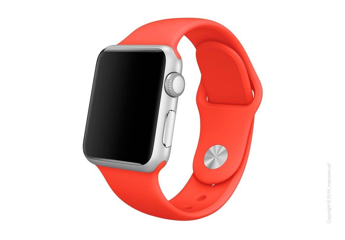 Ремешок Sport для Apple Watch 38мм (MLD92) Orange - 4