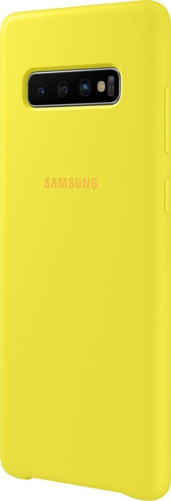 Панель Samsung Silicone Cover для Samsung Galaxy S10 Plus (EF-PG975TYEGRU) Yellow от Територія твоєї техніки - 2