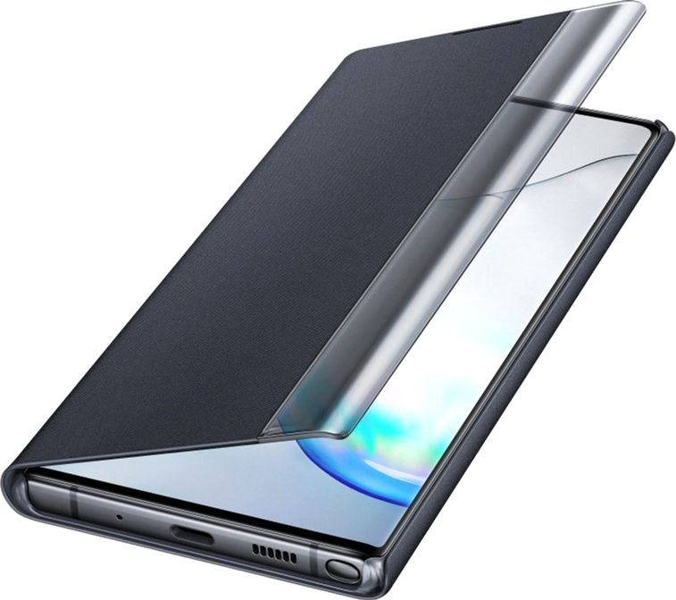 Чехол-книжка Samsung Clear View Cover для Samsung Galaxy Note 10 Plus (EF-ZN975CBEGRU) Black от Територія твоєї техніки - 4