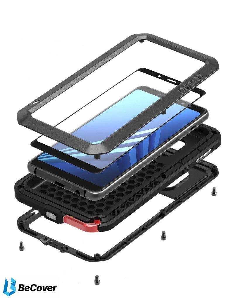 Панель Love Mei Powerful для Samsung Galaxy S8+ SM-G955 (BC_703130) Black от Територія твоєї техніки - 6