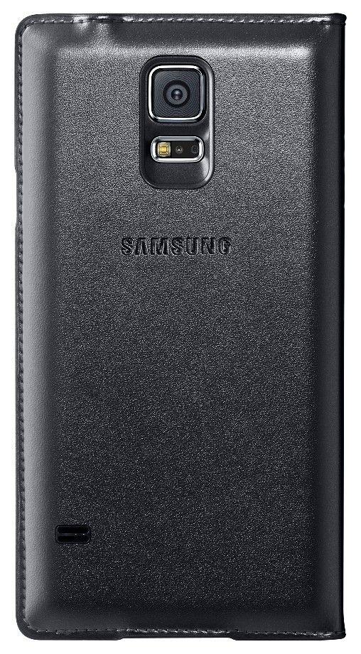 Чехол Samsung Flip Wallet для Galaxy S5 Black (EF-WG900BBEGRU) - 1