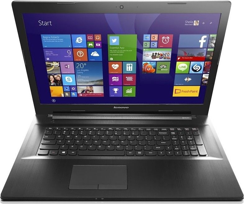Ноутбук Lenovo G70-80 (80FF00BGUA) Black - 5