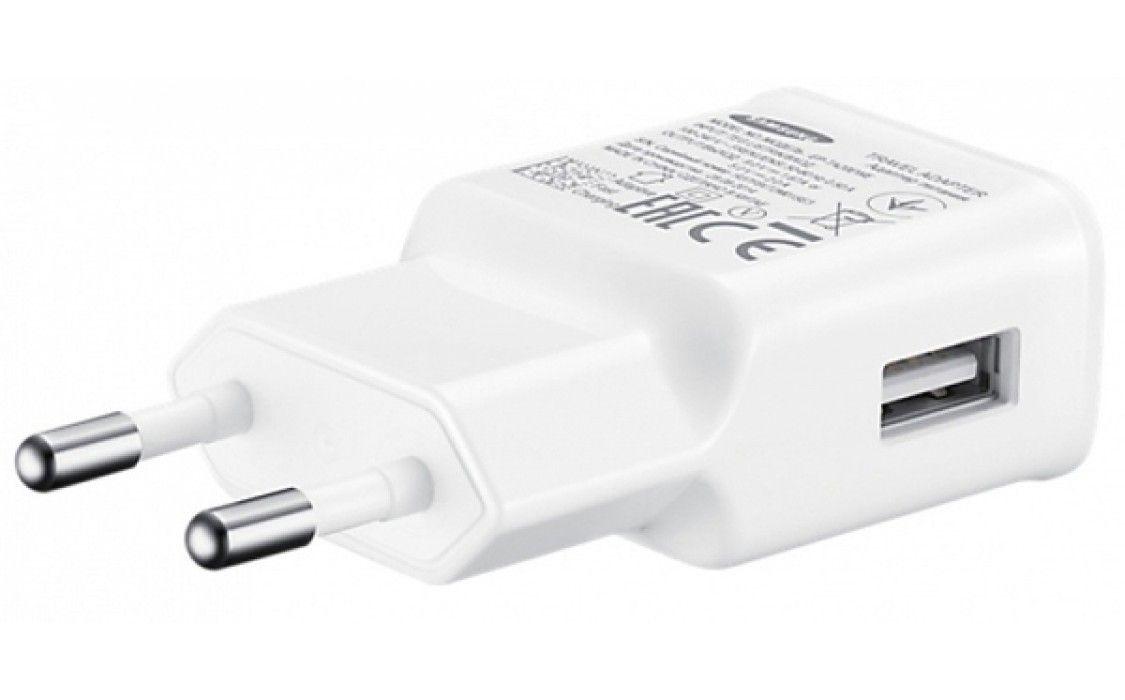 Сетевое зарядное устройство Samsung EP-TA20EWECGRU White от Територія твоєї техніки - 2
